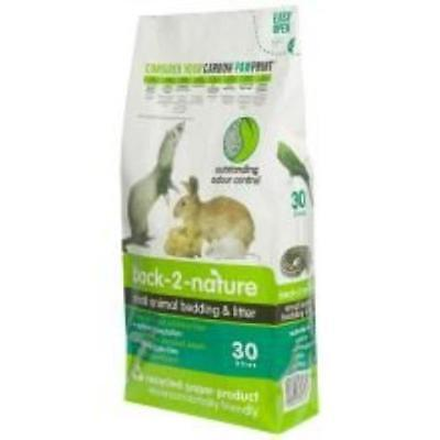 Back 2 Nature Small Animal Bedding 30Ltr Pet Supplies New