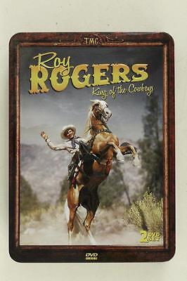 Gently Preowned ROY ROGERS DVD Box Set TIN King Of The Cowboys 2 Disc 5 Movies