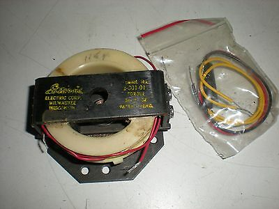 """Stearns Electric Model 1-001-011 Solenoid Actuated Brake for 5/16"""" Shaft - NIP"""