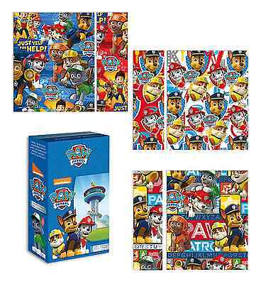 Official Licensed Paw Patrol Wrapping Paper 1 Roll = 200cm (2m) x 70cm