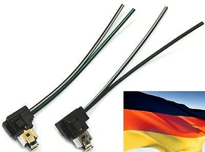 Flosser Wire Harness 14442 Pigtail Female H1 Fog Light Bulb Plug Connector Lamp
