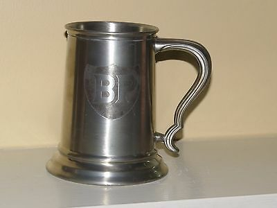 BP British Petroleum Pewter Stein Mug