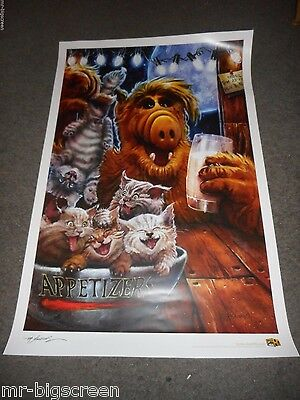 "Alf - Original Worldcon 2016 Poster - 24"" X 36"" - Mike Butkus"