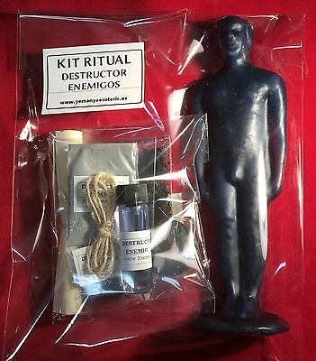 ☆KIT RITUAL DESTRUCTOR ENEMIGOS ☆ DESTROY ENEMY Spell Kit with Instructions