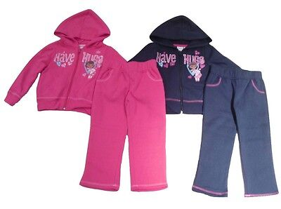 Girls Tracksuit 2 Piece Set Disney Doc McStuffins 2 3 4 5 & 6 Years Old