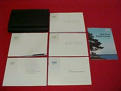 2016 Volvo Xc 90 Xc90 Owners Manual Service Guide Book Kit 16 + Case Navigation