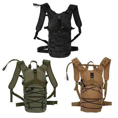 Hydration Knapsack Pack Backpack Water Bladder Bag Cycling Hiking Running G0L4