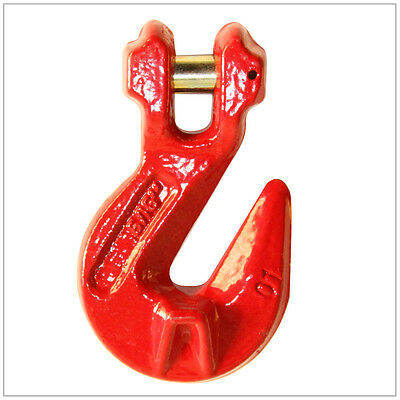"9/32"" G80 Clevis Cradle Grab Hook Alloy Chain FREE SHIP"