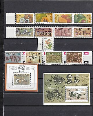 South Africa VENDA Unmounted Mint STAMP Collection 1983-c86 Ref:QB828