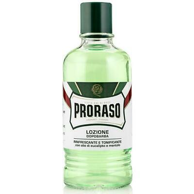 Proraso Aftershave Lotion LARGE 400ml Barber After Shave Post Razor Burn