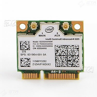 HP 8460w 8560w 8760w 8560p Wifi card Intel 62205ANHMW SPS:631954-001 FRU:60Y3253