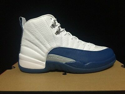 """Nike Air Jordan 12 Retro XII """"French Blue"""" 130690-113 DS 2016 Release"""