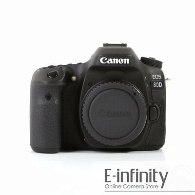 NEW Canon EOS 80D Digital SLR Camera Body (Kit Box)