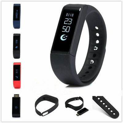Activity Tracker Pedometer Step Walking Calorie Count Bluetooth 4.0 Wristband