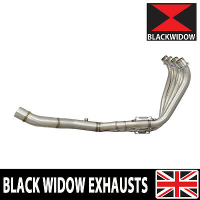 Honda Cb650F Cb 650 F 14-17 Exhaust System Downpipes Collector No Silencer