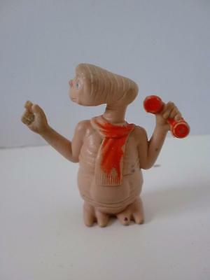 """Vintage E.T Extra Terrestrial 2"""" Phone Home PVC Figure Cake Topper 1980s 1982"""