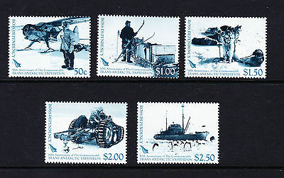 Ross Dependency 2007 Expedition Sg 104-108 Mnh.
