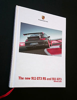 Porsche original 'The New 911 GT3 RS And 911' 2009 complete hardback sales book