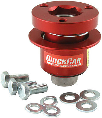 Quickcar Steering Wheel Release Coupler Hub Disconnect 360 Style Hex 68-012
