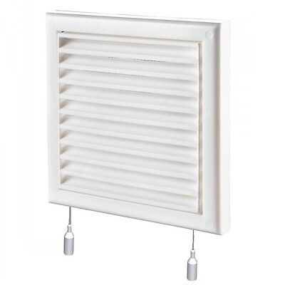 "Air Vent Grille Cover 185x185mm (7x7"") WHITE Ventilation Grill Cover (MV 120 Rs)"
