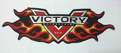 New Awesome VICTORY LOGO FLAME PATCH *** VEGAS BOARDWALK JUDGE HIGHBALL XC