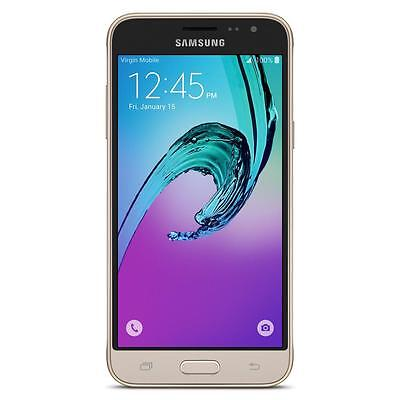"Samsung Galaxy J3 (2016) 5"" Android Smartphone works with Virgin Mobile – New"