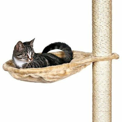 Trixie 43541 Hammock Style Seat For Cat Tree Metal Frame 40 Cm Beige Pet Suppli
