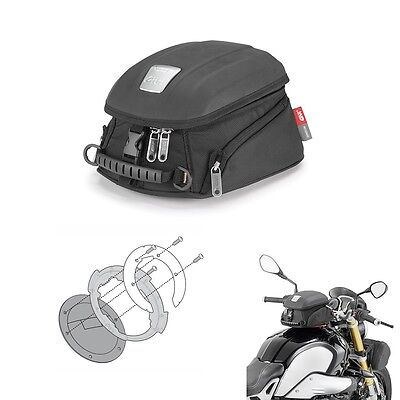 Tank Bag Givi Tanklock Mt505 + Flange Bf 19 Bmw G 650 Gs 2012