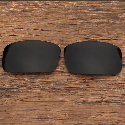 Polarized Replacement Sunglasses Lenses for Spy Optic General (Black)