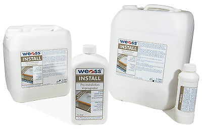 Weiss Install - Pre-construction protection for natural stone