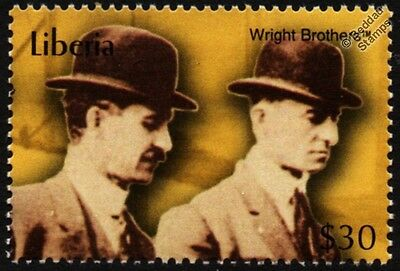 Pioneers of Flight: Orville and Wilbur WRIGHT Brothers Aviation Stamp