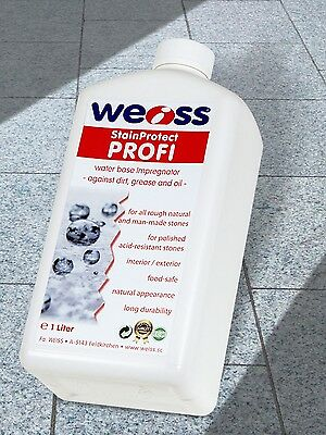 Weiss StainProtect PROFI - Stain protection for stone and concrete