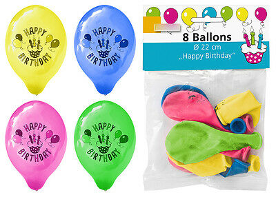Luftballons Luftballon Ballon Birthday Party 22 cm Geburtstag