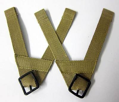 US Airborne Helmet Liner 'A' Yokes Suspension chin straps cup WW2 Army M1 M2 M1C