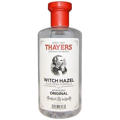 Thayers Witch Hazel Original Astringent Mens Skin Cleanser Aloe Vera Toner