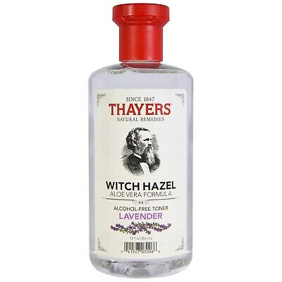 Thayers Witch Hazel Alcohol-Free Mens Skin Cleanser Toner Lavender