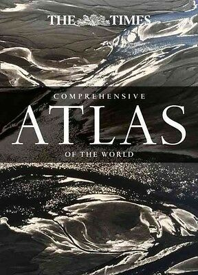 Times Comprehensive Atlas of the World by Times Atlases Hardcover Book (English)
