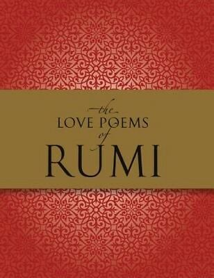 The Love Poems of Rumi by Nader Khalil Hardcover Book (English)