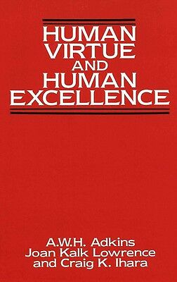 Human Virtue and Human Excellence by Hardcover Book (English)