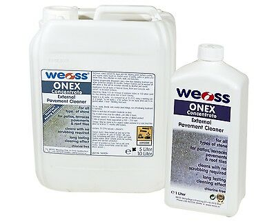 Weiss Onex Concentrate - Kill and prevents moss on paving, fast acting.