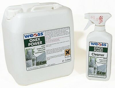 Weiss Onex Power - Removes and prevents moss and plant stains