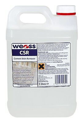 Weiss Cement Stain Remover (CSR) - For internal and external natural stones