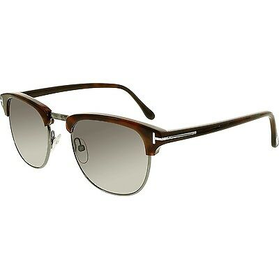 Tom Ford Men's Henry FT0248-52A-51 Brown Square Sunglasses