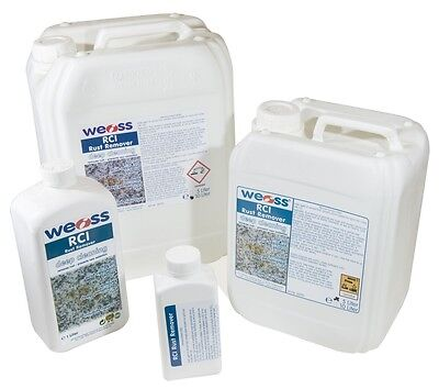 Weiss RCI Rust Remover - Removes and prevents rust stains from hard stones