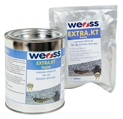 Weiss Extra KT - Removes oils, wax and gum from concrete and natural stone