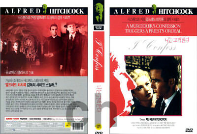 Details about  I Confess (1953) - Alfred Hitchcock, Montgomery Clift  DVD NEW