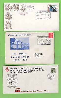 GB Collection of twenty five Railway Thematic Covers