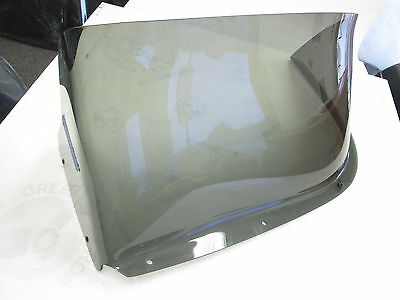 "Skeeter Boat Tinted Port Left Windshield Bubble 33"" Wide w/Lip"