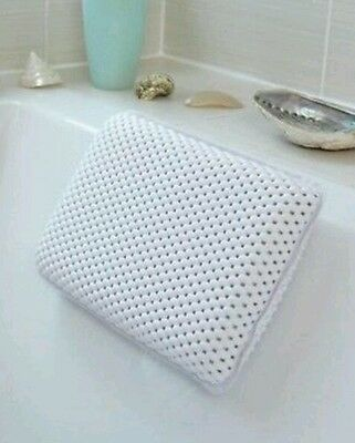 Luxury Comfort Bath Spa Pillow Relaxing Spongy Cushioned Head Neck Rest Bathroom