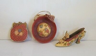 Sandy's Closet Through the Seasons Victorian Ornament Assortment #18723 NIB Y481